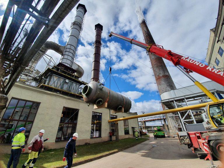 flue gas condensing economizer
